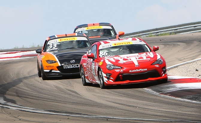 Toyota 86 Finally Goes Racing In North America U2014 And Does Pretty Well