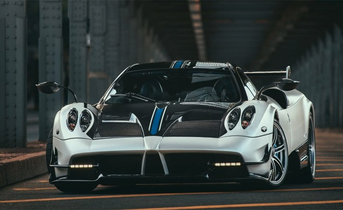 See What it Takes to Do a Pagani Huayra BC Photoshoot » AutoGuide