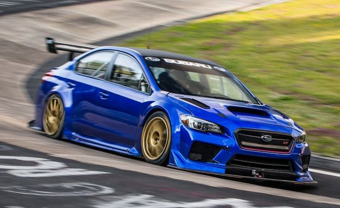 2017 Sti Lowered >> Watch Subaru Set a Nurburgring Lap Record » AutoGuide.com News