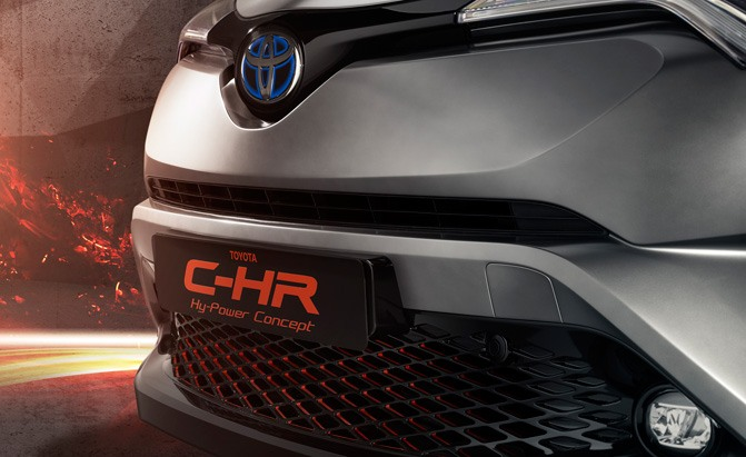 toyota c-hr hy-power concept teaser