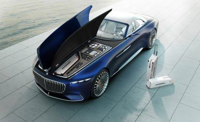 Mercedes-Maybach Unveils Super Swanky 750-HP Electric Convertible
