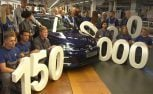 VW Celebrates 150M Cars Produced