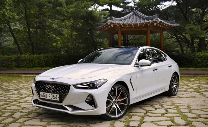 2018 Genesis G70 Review and First Drive - AutoGuide.com