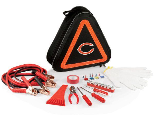 The Best NFL Car Accessories include the Chicago Bears Emergency kit for cars