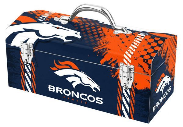 The Best NFL Car Accessories include the Denver Broncos Toolbox