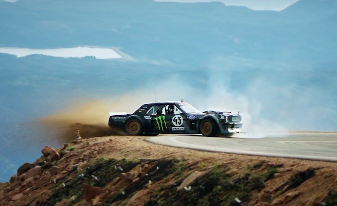 Used Car Loan >> Ken Block Rips up Pikes Peak in His 1400 HP Mustang in 'Climbkhana' » AutoGuide.com News