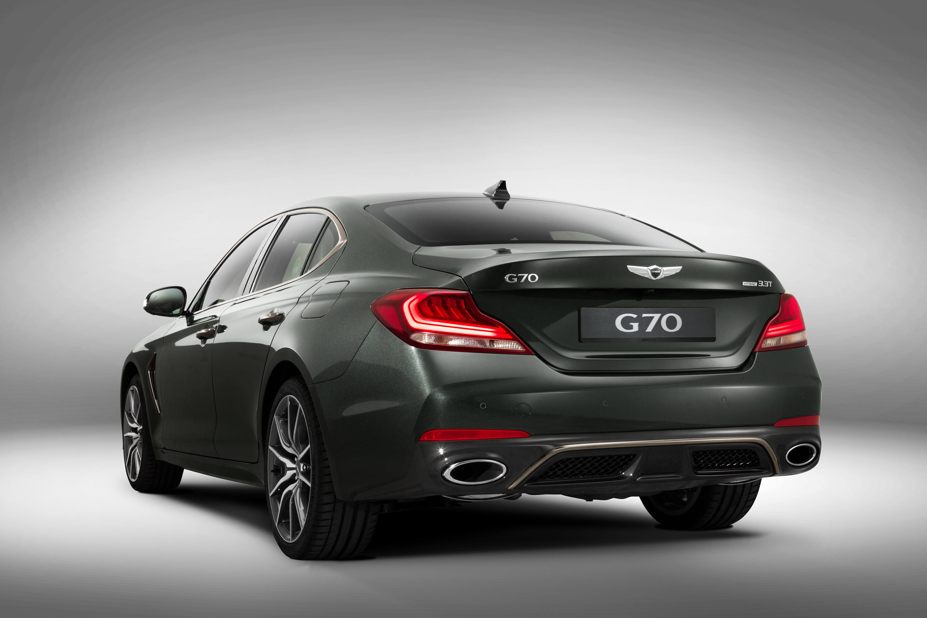 Red 2017 Hyundai Elantra >> Everything You Need to Know about the 2018 Genesis G70 » AutoGuide.com News