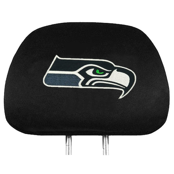 The Best NFL Car Accessories include the Seattle Seahawks headrest covers