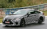 Lexus Spied Testing Hotter RC F Model on the Nurburgring