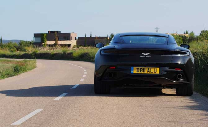 Why The Aston Martin Db11 V8 Sounds Different From An Amg With The Same Engine Autonews