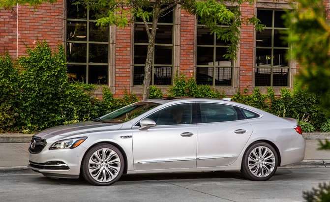 Hot Scoop Buick Lacrosse Avenir Is Coming In 2018