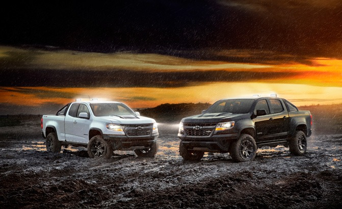 2018 chevrolet colorado zr2 dusk and midnight editions