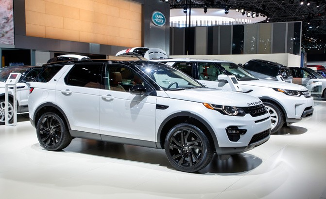 land rover discovery sport and evoque get new engines. Black Bedroom Furniture Sets. Home Design Ideas