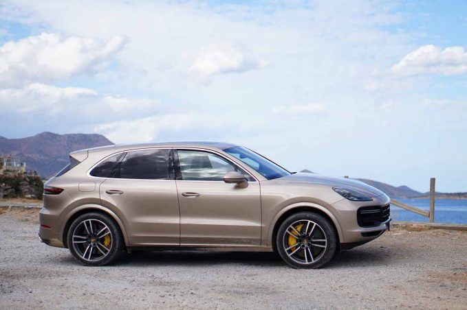 2019 porsche cayenne review and first drive news. Black Bedroom Furniture Sets. Home Design Ideas