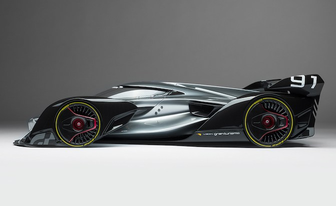 2017 Hyundai Santa Fe >> You Can Now Buy the McLaren Vision GT Car in Scale Model ...