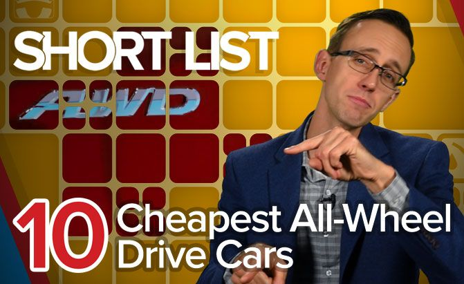 Top 10 Cheapest All-Wheel-Drive Cars
