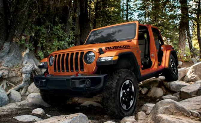 Leaked 2018 Jeep Wrangler Jl Owner S Manual Tells All