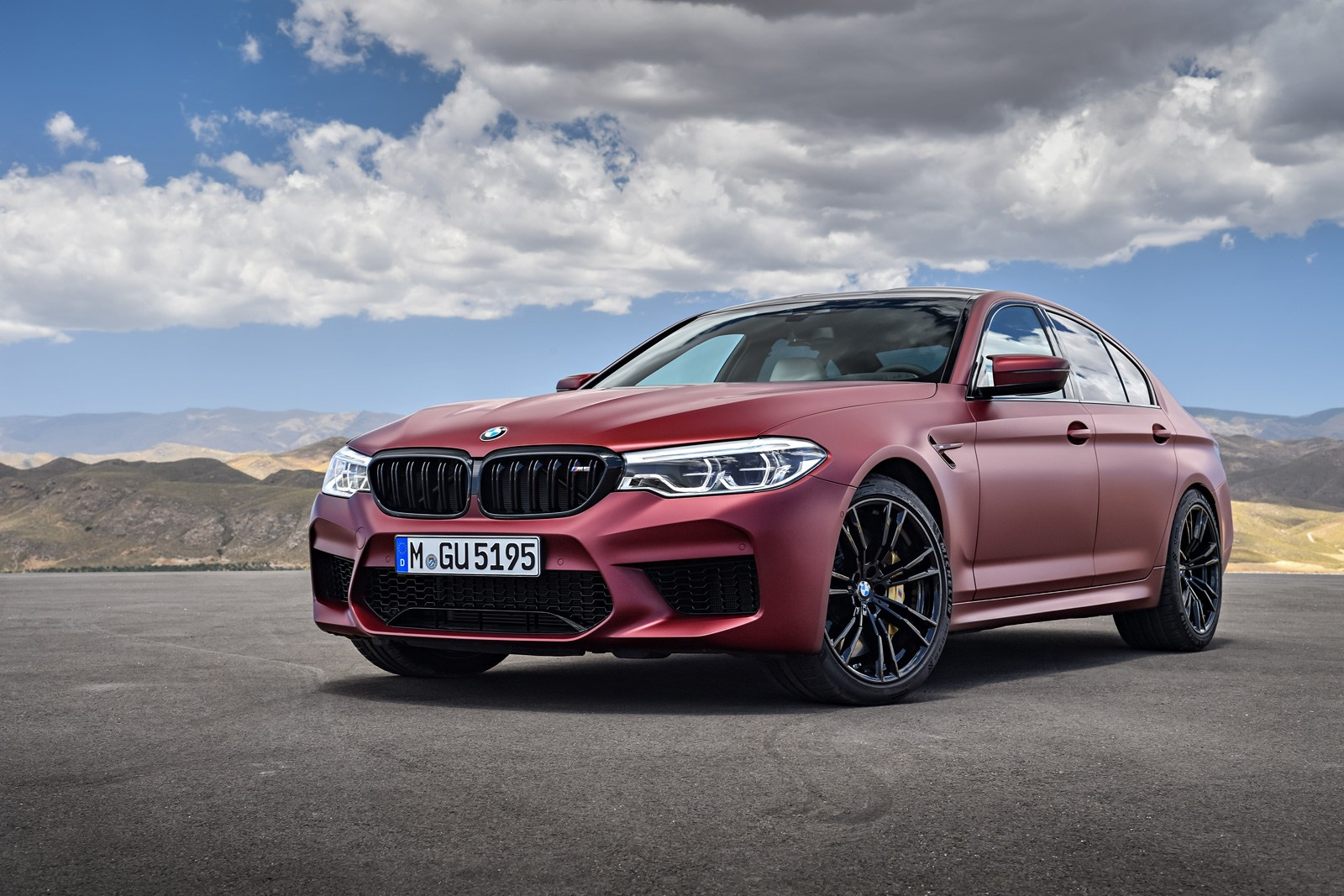 Bmw M5 First Edition Frozen Red