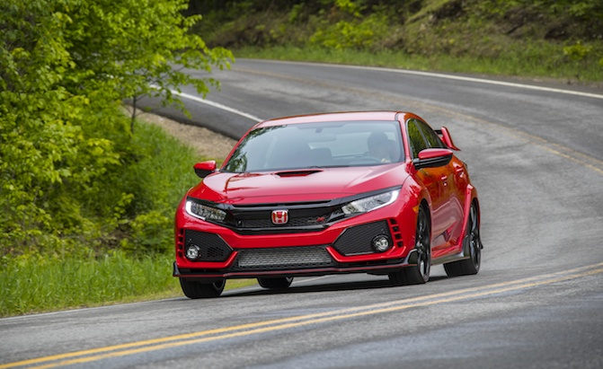 honda civic type r gets 200 price bump for 2018 model year news. Black Bedroom Furniture Sets. Home Design Ideas