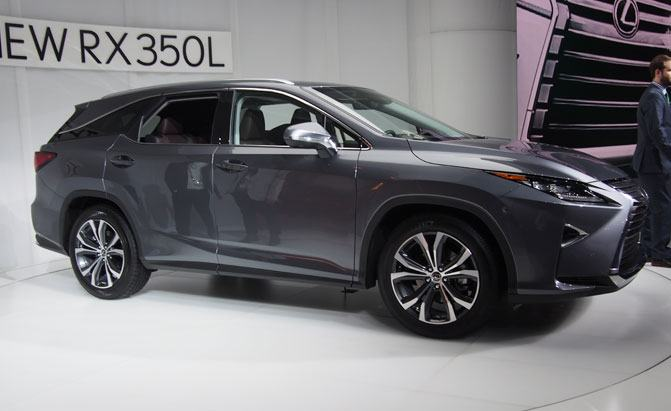 Used Lexus Rx 350 >> New 3-Row Lexus RX L Debuts with Seating for 7 » AutoGuide ...