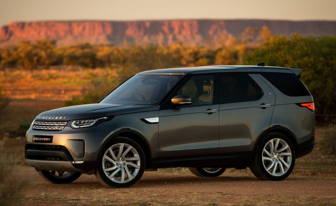 2018 land rover discovery arrives early next year news. Black Bedroom Furniture Sets. Home Design Ideas