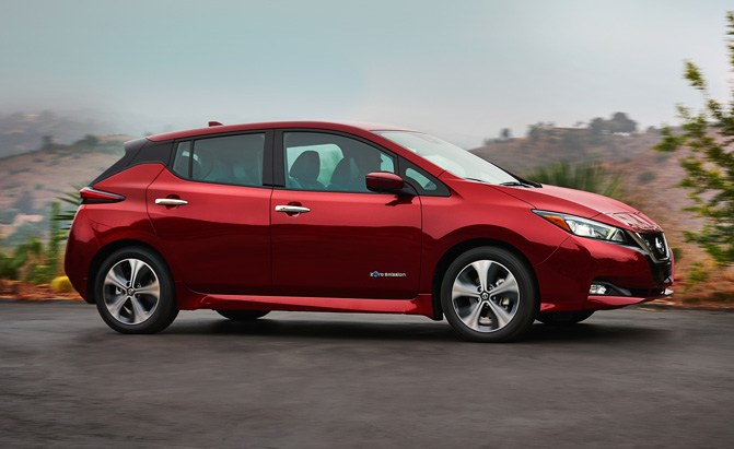 Long Range Nissan Leaf E Plus Coming In 2019 Will Have 200 Hp