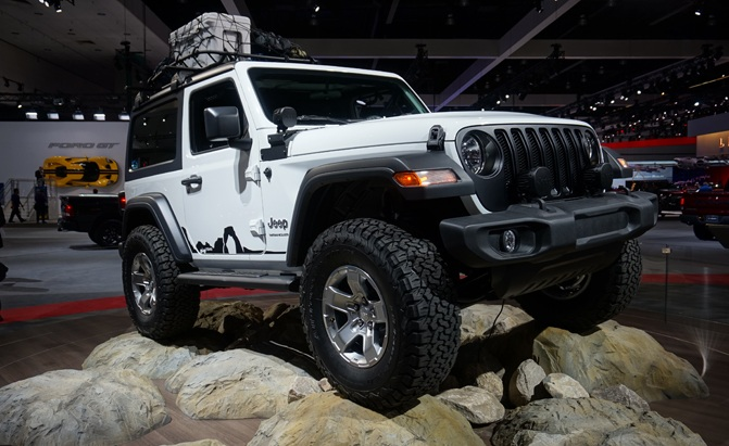 New 2018 Jeep Wrangler JL Debuts With 3 Engine Options ...