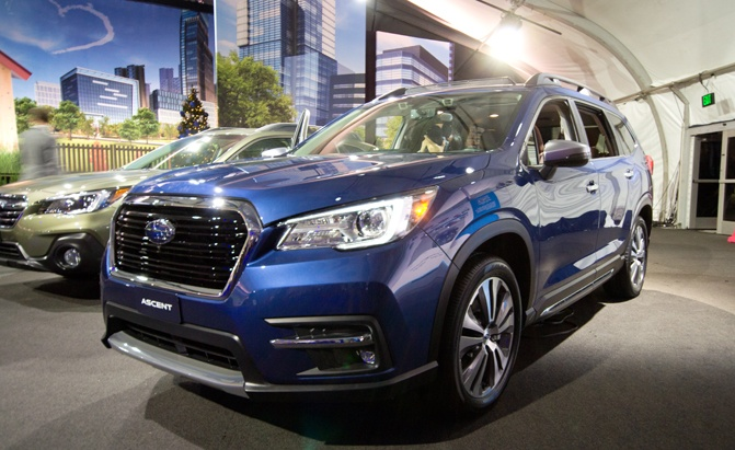 the 2019 subaru ascent is made for americans and their american stuff  u00bb autoguide com news