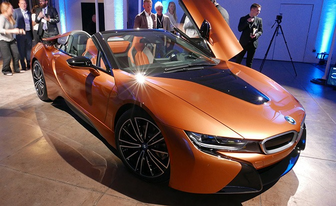 2019 Bmw I8 Roadster Video First Look Autoguide Com News