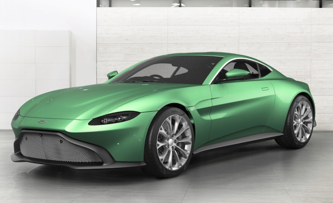 You Can Now Configure Your Own 2018 Aston Martin Vantage