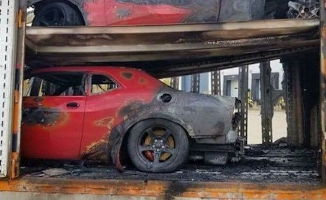 3 Dodge Demons Get Called Back to the Underworld and Go up in Flames » AutoGuide.com News