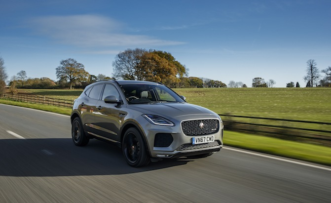 the 2018 jaguar e pace drinks more fuel than its bigger brother news. Black Bedroom Furniture Sets. Home Design Ideas
