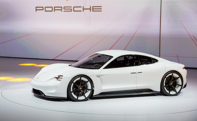 Porsche Taycan Name To Be Applied To Production Mission E