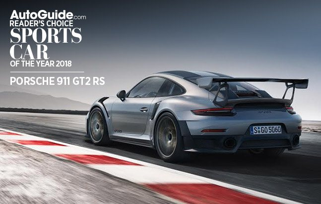 Porsche 911 GT2 RS Wins 2018 AutoGuide.com Readeru0027s Choice Sports Car Of  The Year