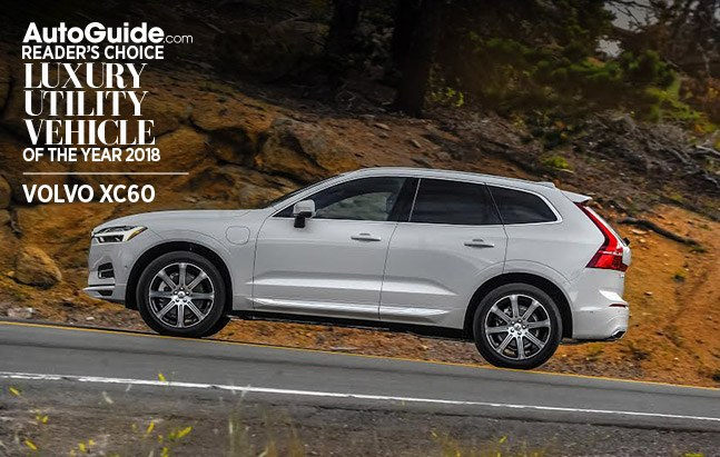 volvo xc60 autoguide.com reader's choice luxury utility vehicle of the year