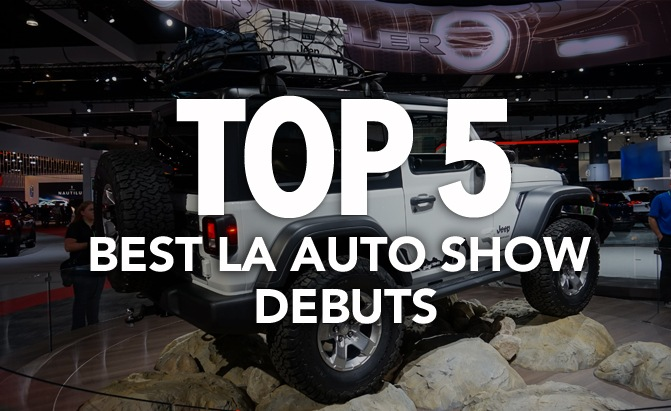 Top Best Debuts From The LA Auto Show AutoGuidecom News - La auto show car debuts