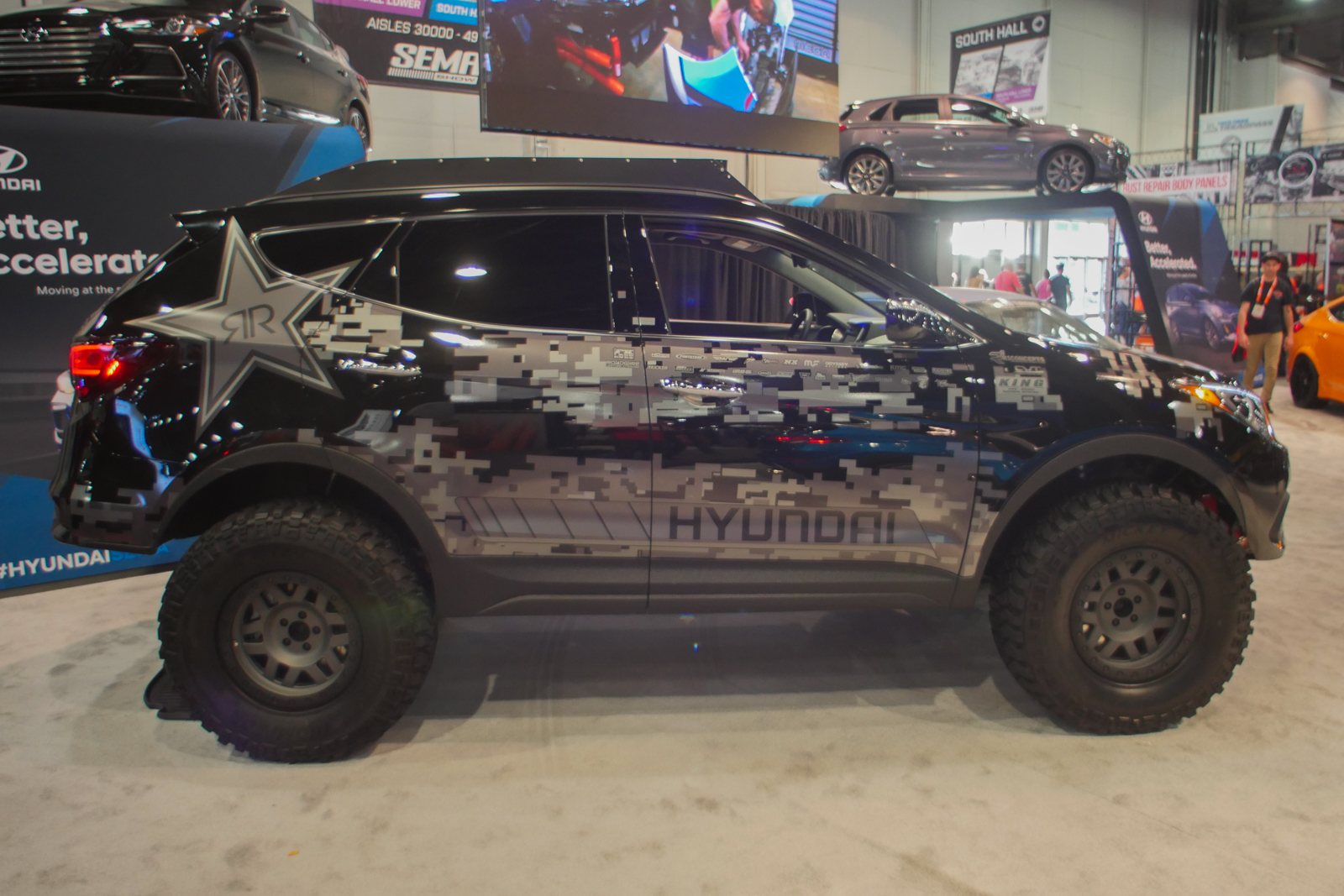 top 6 terrible cars from the 2017 sema show news. Black Bedroom Furniture Sets. Home Design Ideas