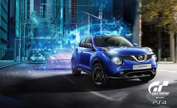 you can win a nissan juke by playing gran turismo sport news. Black Bedroom Furniture Sets. Home Design Ideas