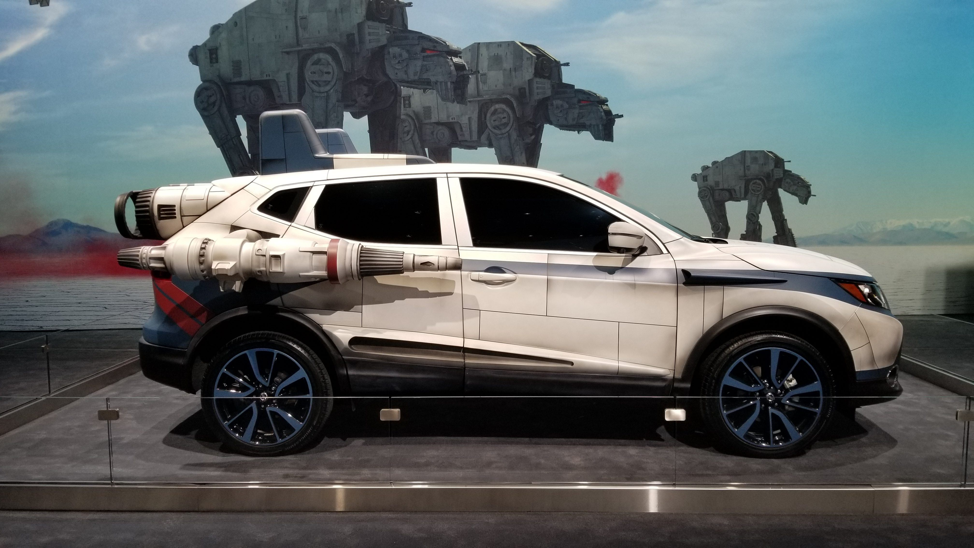 Car Wars: Here's Why The Star Wars And Nissan Partnership Works So