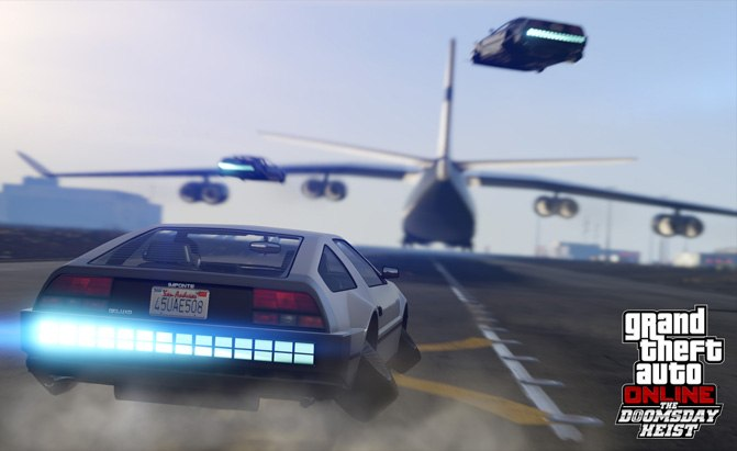 Grand Theft Auto Introduces an Awesome new Delorean ...