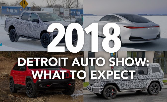 What To Expect At The Detroit Auto Show AutoGuidecom News - Car show detroit 2018