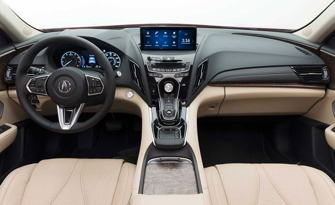 overhauled 2019 acura rdx crossover debuts news. Black Bedroom Furniture Sets. Home Design Ideas