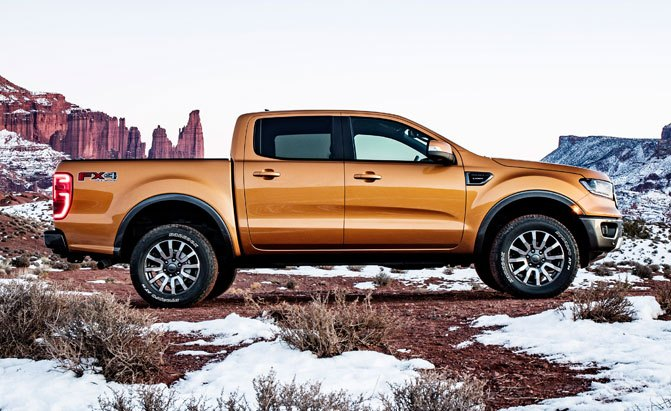 2019 Ford Ranger Fuel Economy Rated at 23 MPG Combined
