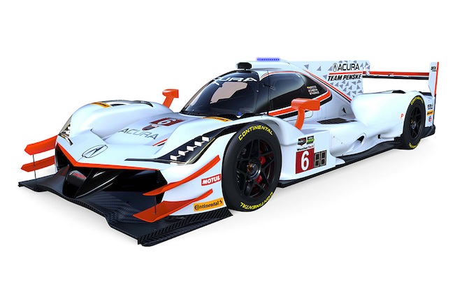 Acura Has a New Race Car, and it Will Race at Daytona This Weekend ...