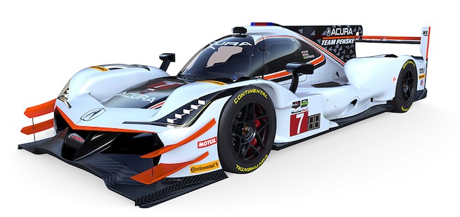 Acura Has a New Race Car, and it Will Race at Daytona This ...