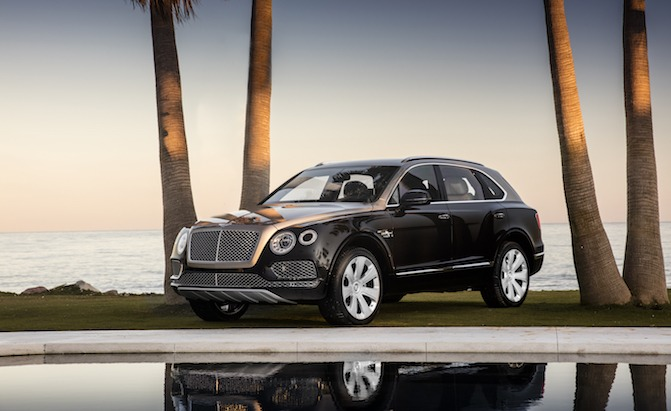 Bentley Bentayga V8 With 542 Hp Coming For 2019 Model Year