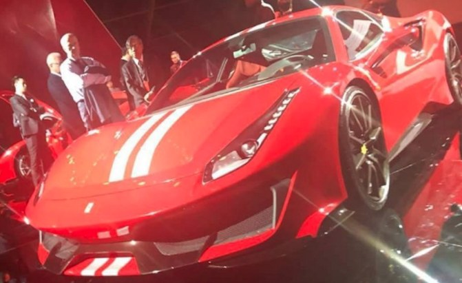 Image Of Ferrari 488 Gto Leaks Online Ahead Of Official
