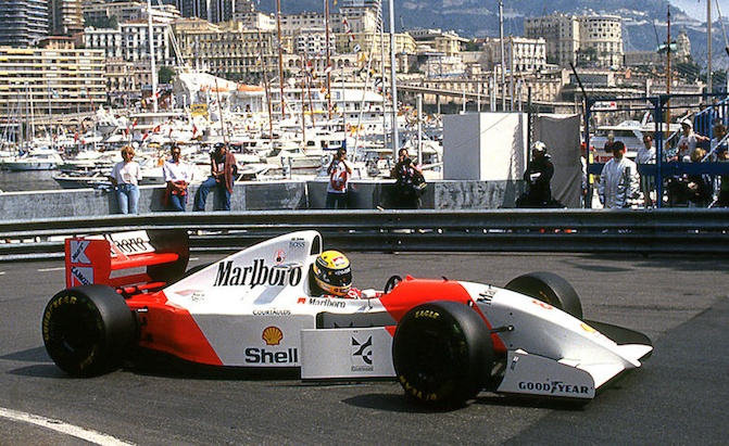 Senna Driven, Monaco Winning McLaren F1 Car Heading to Auction ...