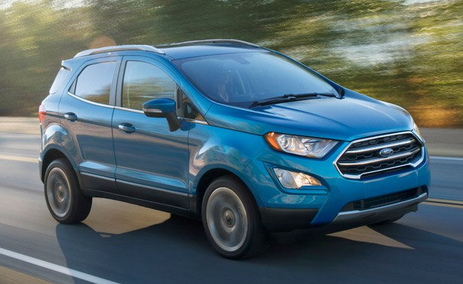 ford ecosport hits dealers with big lease incentives » autoguide
