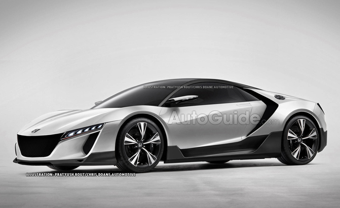 Baby Nsx Would Be Great But It S Not Happening Acura Exec Says